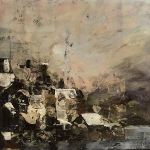 "Nicole Wasgatt Art 12"" x 12"" | mixed media"